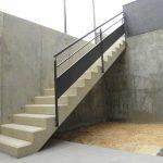 Em2 - Construcción Viviendas de Diseño - Sonsoles - Casa Unifamilar - Reformas de Exteriores - Fachada con Escalera