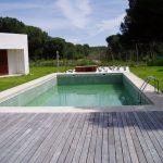 Construcción Viviendas de Diseño - Boecillo 159 - Casa Unifamilar - Construcciones de Fachadas y Exteriores con Piscina