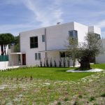 Construcción Viviendas de Diseño - Boecillo 159 - Casa Unifamilar - Construcciones de Fachadas y Exteriores con Jardín