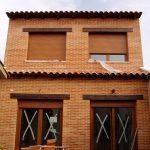 Construcción Viviendas Rústicas - Pililo- Casa Unifamilar - Casa Rústica - Entrada Patio