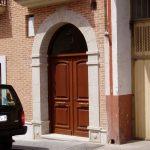 Construcción Viviendas Convencionales - Andrés Casado - Casa Unifamilar - Puerta Entrada