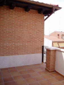Construcción Viviendas Convencionales - Andrés Casado - Casa Unifamilar - Terraza