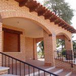 Construcción Viviendas Rústicas - Meseta - Casa Unifamilar - Casa Rústica Entrada
