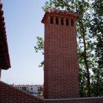 Construcción Viviendas Rústicas - Meseta - Casa Unifamilar - Casa Rústica Chimenea